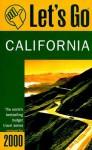 Let's Go California 2000 - Let's Go Inc.