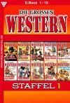 Die großen Western Staffel 1: Die großen Western Staffel 1 (German Edition) - Howard Duff, H.C. Nagel, G.F. Barner, U.H. Wilken, Joe Juhnke, Frank Callahan, Ken Hopkins, H.C. Hollister, J.E. Shane