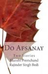 Do Afsanay: Two Stories (Urdu Masters) (Urdu Edition) - Munshi Premchand, Rajinder Singh Bedi