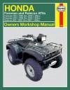 Honda Foreman & Rubicon ATVs: 1995 thru 2007 - Ken Freund, Ken Freund
