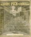 Albert Pick & Company 1913 Reprint General Catalog - Ross Bolton