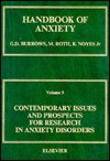 Contemporary Issues and Prospects for Research in Anxiety Disorders: - Graham D. Burrows, Martin Roth