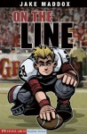 Jake Maddox: On the Line: 0 (Jake Maddox Sports Stories) - Jake Maddox, Sean Tiffany