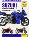 Suzuki GSF650/1250 Bandit & GSX650/1250F Service & Repair Manual: 2007-2013 (Haynes Service and Repair Manuals) - Phil Mather