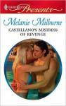 Castellano's Mistress of Revenge - Melanie Milburne
