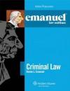 Emanuel Law Outlines: Criminal Law - Steven L. Emanuel