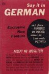 Say It in German - Gustave Mathieu, Guy Stern