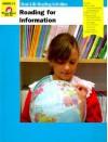 Reading for Information: Grades 2-3 - Jo Ellen Moore, Marilyn Evans, Jo Larsen