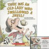 There Was an Old Lady Who Swallowed a Shell! Book and Audiocassette Tape Set (Paperback Book and Audio Cassette Tape) - Lucille Colandro, Jared Lee, Skip Hinnant