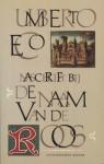 Naschrift bij De Naam van de Roos - Umberto Eco, Henny Vlot