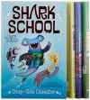 Shark School Shark-tastic Collection Books 1-4: Deep-Sea Disaster; Lights! Camera! Hammerhead!; Squid-napped!; The Boy Who Cried Shark - Davy Ocean, Aaron Blecha