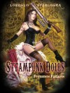 Steampunk Dolls and Femmes Fatales, Pin up Art By Lorenzo Sperlonga - Lorenzo Sperlonga, Heavy Metal Magazine, Hand signed by the artist and cover model Anastasia Pierce., Every book comes with an exclusive limited edition print signed by the artist