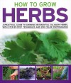 How to Grow Herbs: A Practical Guide to Growing 18 Essential Culinary Herbs, with Step-By-Step Techniques and 200 Photographs - Richard Bird