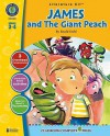 A Literature Kit for James and the Giant Peach, Grades 3-4 [With 3 Overhead Transparencies] - Marie-Helen Goyetche
