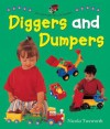 Say and Point Picture Boards: Diggers and Dumpers (Board Book) - Nicola Tuxworth