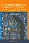 A Thematic Dictionary of Modern Persian - Colin Turner