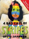 A Bad Case of Stripes: Now in Portuguese (MP3 Book) - David Shannon, Laura Termini