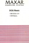 Maxar Computer System: DOS/Basic - MS-DOS 4.01 & GW-Basic - Microsoft Corporation