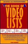 Book of Video List-1990 - Tom Wiener