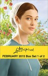 Love Inspired February 2015 - Box Set 1 of 2: A Match for AddyHometown ValentineHealing the Widower's HeartBig Sky Homecoming - Emma Miller, Lissa Manley, Susan Anne Mason, Linda Ford