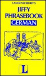 Jiffy Phrasebook German - Langenscheidt