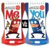 Me Vs. You: Head-to-Head Pencil Games Challenge (Klutz) - Michael Sherman, The editors of Klutz