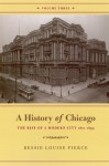 A History of Chicago, Volume III: The Rise of a Modern City, 1871-1893 - Bessie Louise Pierce