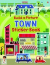 Build a Picture Sticker Book Towns - Felicity Brooks