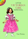 Little Victorian Girl Paper Doll - Tom Tierney