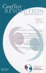 Conflict Resolution Quarterly, No. 1 - CRQ (Conflict Resolution Quarterly)