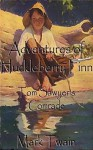 Adventures of Huckleberry Finn: Tom Sawyer's Comrade / Illustrated /(Original Version) - Mark Twain