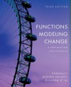 Functions Modeling Change: A Preparation for Calculus - Eric Connally, Deborah Hughes-Hallett, Andrew M. Gleason