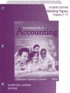 Working Papers for Gilbertson/Lehman/Gentene's Fundamentals of Accounting: Course 1, 10th - Claudia B. Gilbertson, Mark W. Lehman, Debra H. Gentene