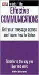 Effective Communications: Get Your Message Across and Learn How to Listen - Steve Shipside, Terry Jeavons & Company