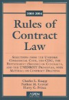Rules Of Contract Law 2003 2004 (Statutory Supplement) - Charles L. Knapp, Nathan M. Crystal, Harry G. Prince