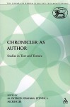 The Chronicler as Author: Studies in Text and Texture - Steven L. McKenzie