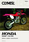 Clymer Honda XR400R, 1996-2004 (Clymer Motorcycle Repair) - Ron Wright