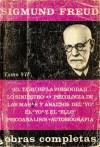 Obras completas 7 1916-24: El tabú de la virginidad/Lo siniestro/Psicología de las masas y análisis del yo/El yo y el ello/Psicoanálisis/Autobiografía - Sigmund Freud