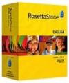 Rosetta Stone Version 3 English (US) Levels 1,2,3,4 & 5 Set with Audio Companion - Rosetta Stone