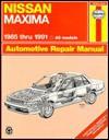 Nissan Maxima Automotive Repair Manual - John H. Haynes