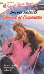 Threat of Exposure (Silhouette Intimate Moments, No 295) - Doreen Roberts