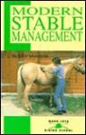 Modern Stable Management: Modern Stable Management - Susan McBane