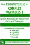 The Essentials of Complex Variables I (Essentials) - Alan D. Solomon