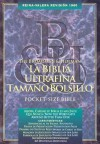 Santa Biblia de Bolsillo: 1960 Reina-Valera Revision, piel elaborada cafe (Pocket Bible, brown bonded leather) - Broadman and Holman Espanol Editorial Staff, Broadman and Holman Espanol Editorial Staff