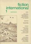 Fiction International 01 - Joe David Bellamy