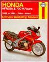 Honda Vfr750 & 700 V-Fours Owners Workshop Manual (Haynes Owners Workshop Manual Series) - Jeremy Churchill
