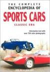 The Complete Encyclopedia of Sports Cars: Classic Era - Rob de la Rive Box