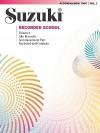 Suzuki Recorder School, Volume 1: Alto Recorder Accompaniment Part: Keyboard and Continuo - Shinichi Suzuki