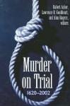 Murder on Trial - Robert Asher