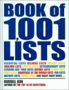 Book of 1,001 Lists - Russell Ash